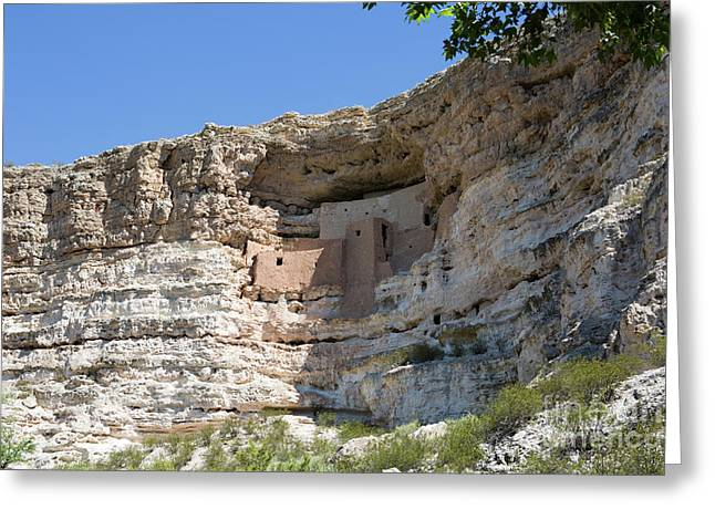 Montezuma Castle National Monument Arizona Greeting Card