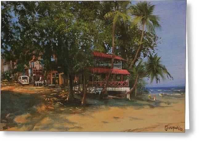 Montezuma Costa Rica Greeting Card