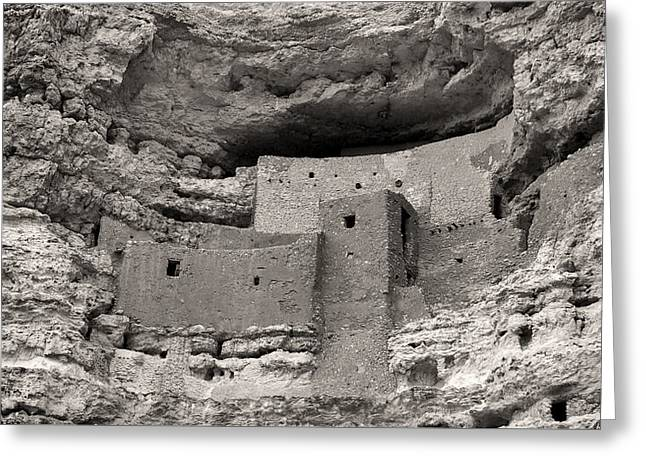 Montezuma's Castle Greeting Card by Joseph Smith