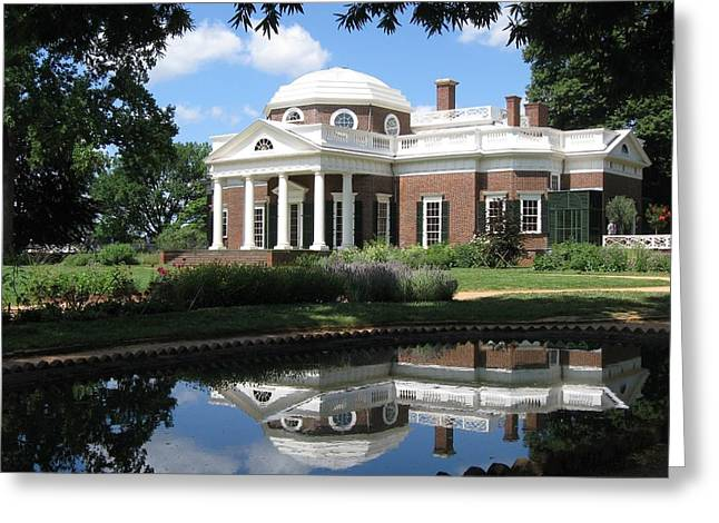 Monticello Greeting Card by Doug McPherson