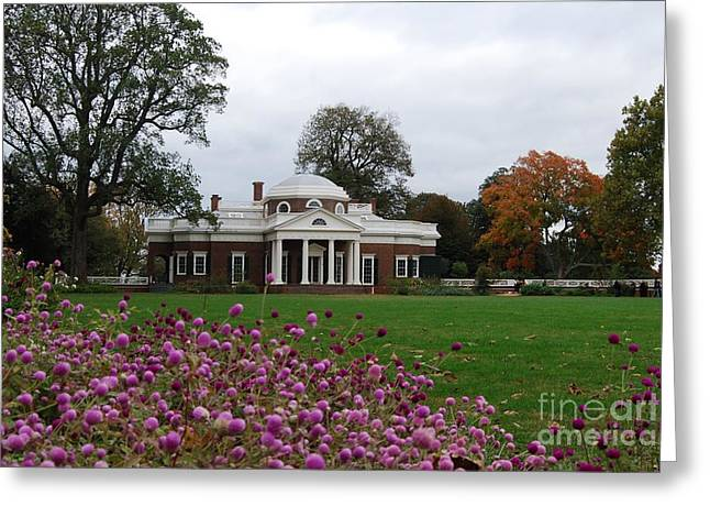 Monticello Greeting Card by Eric Liller
