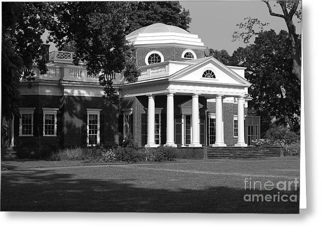 Monticello IIi Greeting Card by Eric Liller