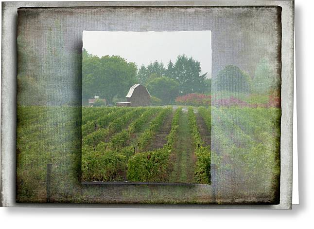 Montinore Winery Greeting Card