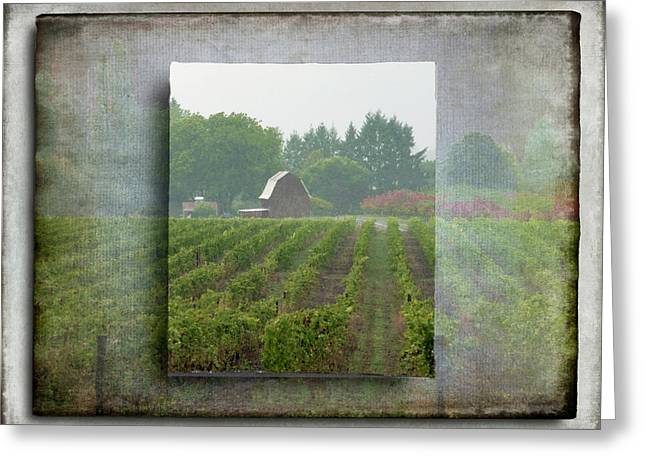 Greeting Card featuring the photograph Montinore Winery by Jeffrey Jensen