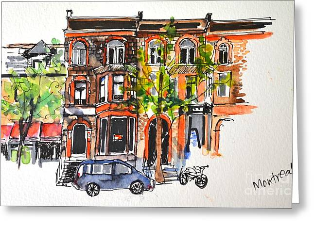 Montreal 1 Greeting Card