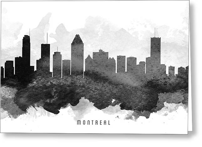Montreal Cityscape 11 Greeting Card