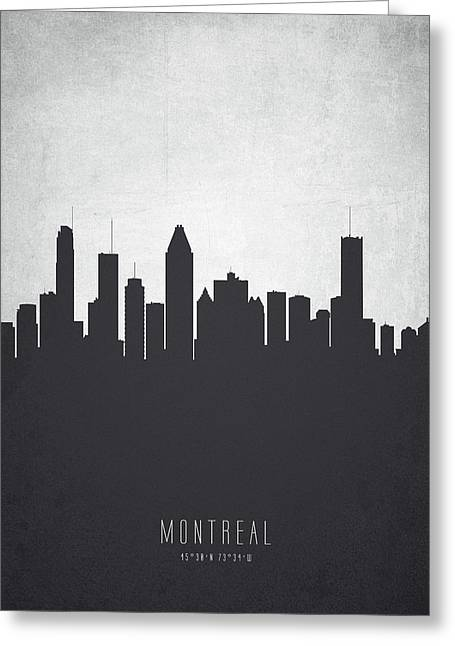 Montreal Quebec Cityscape 19 Greeting Card