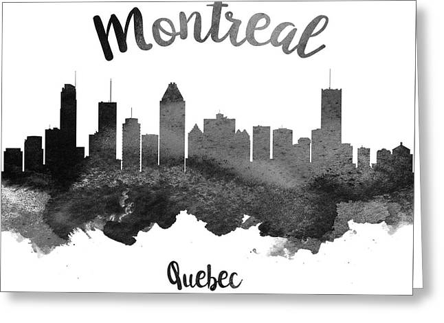 Montreal Quebec Skyline 18 Greeting Card