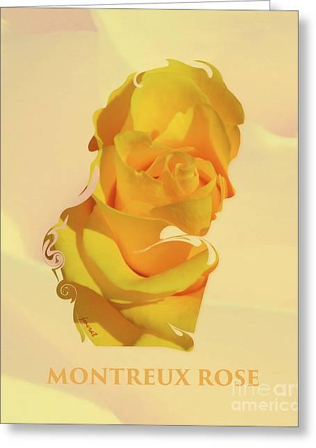 Montreux Rose, M12 Greeting Card