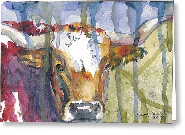 Montrose Longhorn Greeting Card