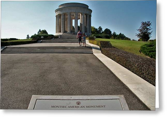 Montsec American Monument Greeting Card