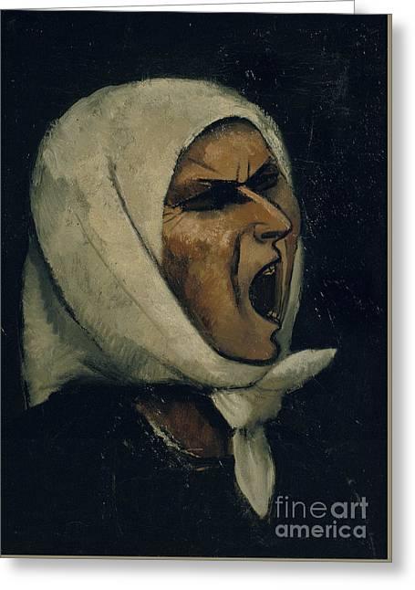 Montserrat Shouting Greeting Card