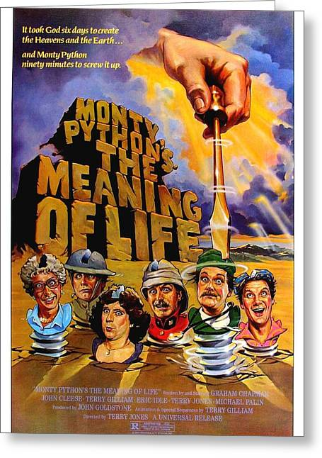 Monty Python Greeting Card