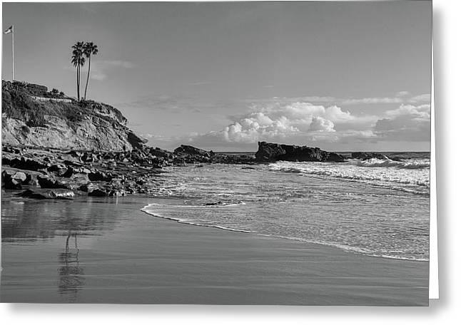 Greeting Card featuring the photograph Monument Point Laguna Beach by Cliff Wassmann