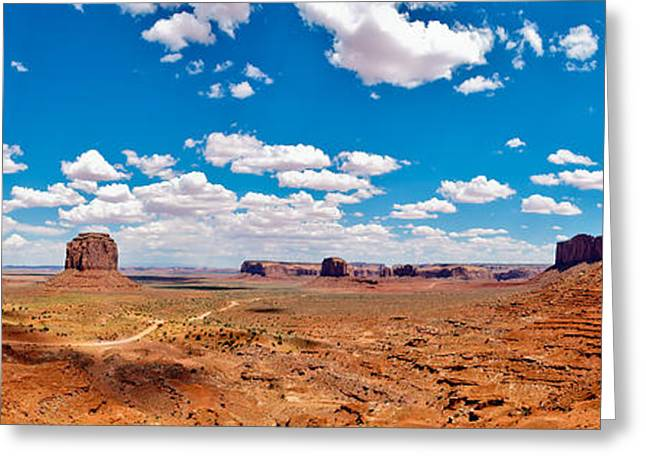 Monument Valley - The Large One Greeting Card by Andreas Freund