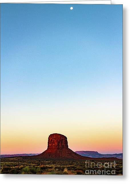 Monument Valley Morning Glory Greeting Card