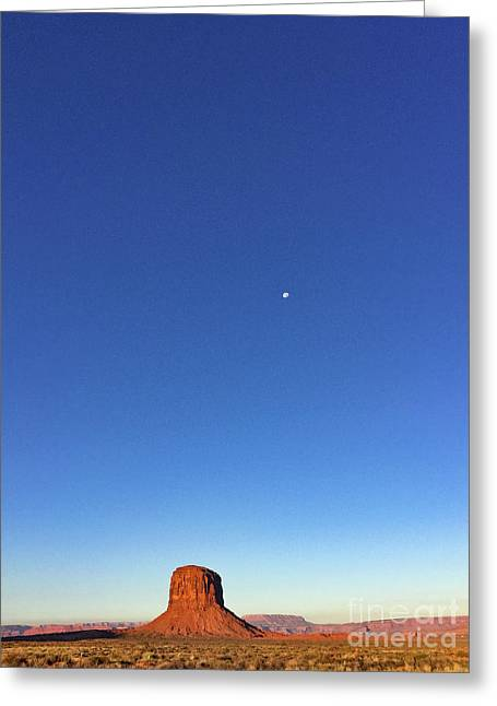 Monument Valley Morning View Greeting Card