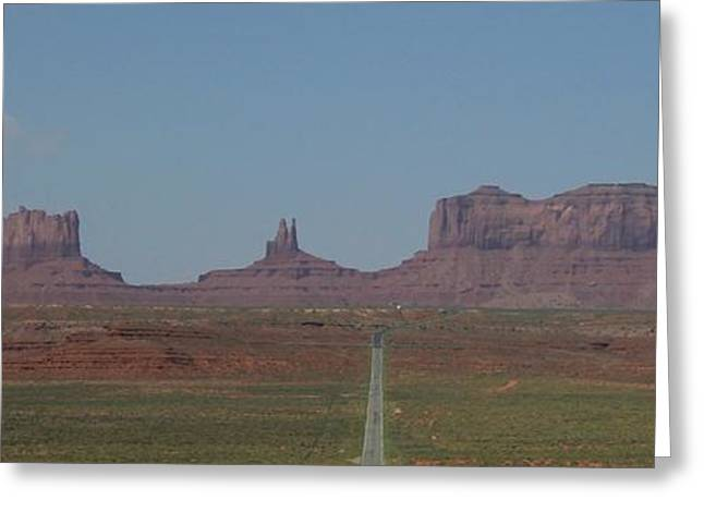 Greeting Card featuring the photograph Monument Valley Navajo Tribal Park by Christopher Kirby