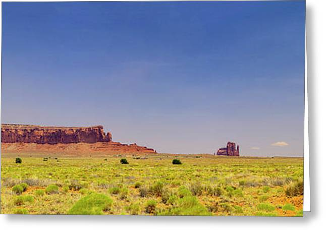 Monument Valley South View Greeting Card