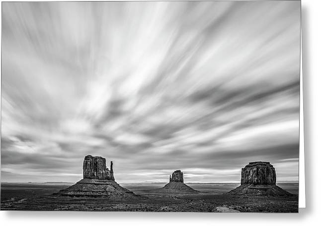 Monumental Clouds Greeting Card by Jon Glaser
