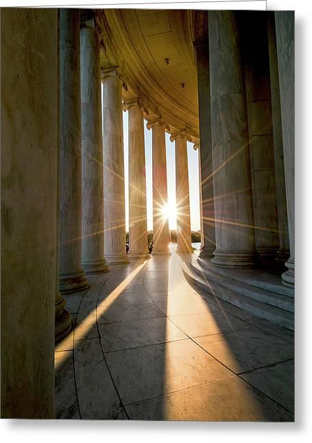 Monumental Light Greeting Card