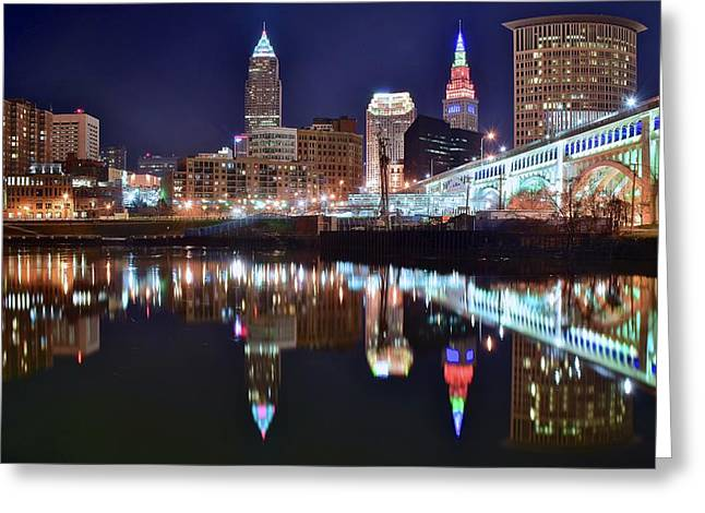 Mood Lighting Greeting Card by Frozen in Time Fine Art Photography