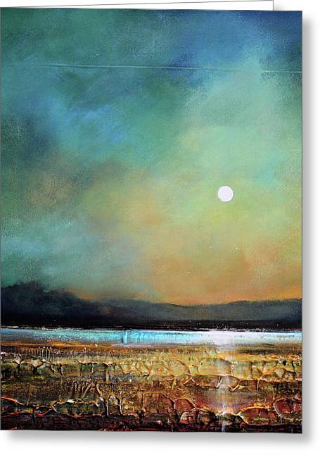 Moody Light Greeting Card by Toni Grote
