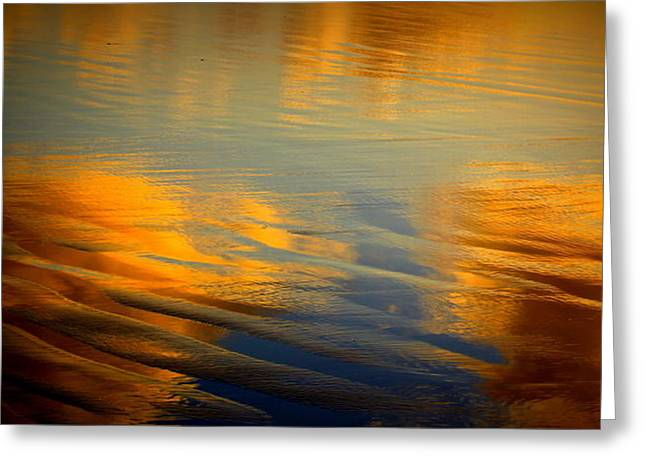 Moody Reflections Greeting Card
