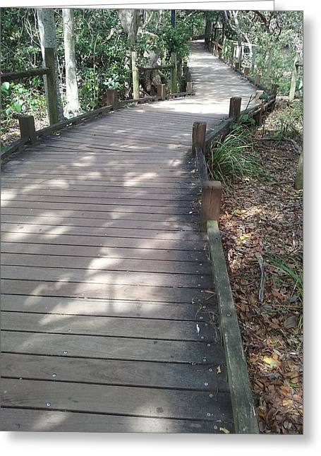 Mooloolaba Path Greeting Card