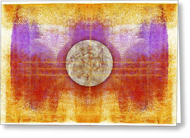 Moon Colors Greeting Card