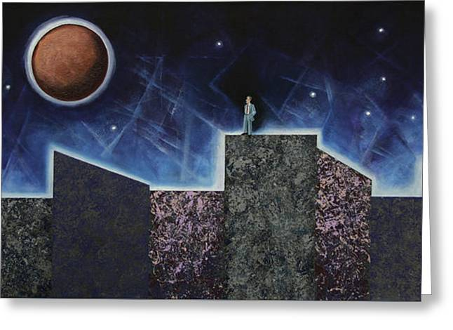Moon Eclipse Greeting Card