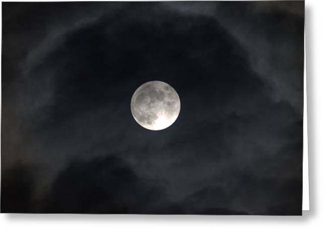 Moon Eye Greeting Card