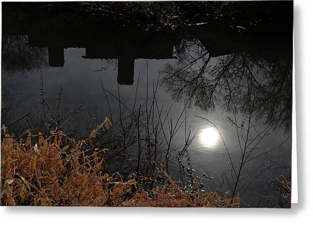 Greeting Card featuring the photograph Moon Lake by Larry Bishop