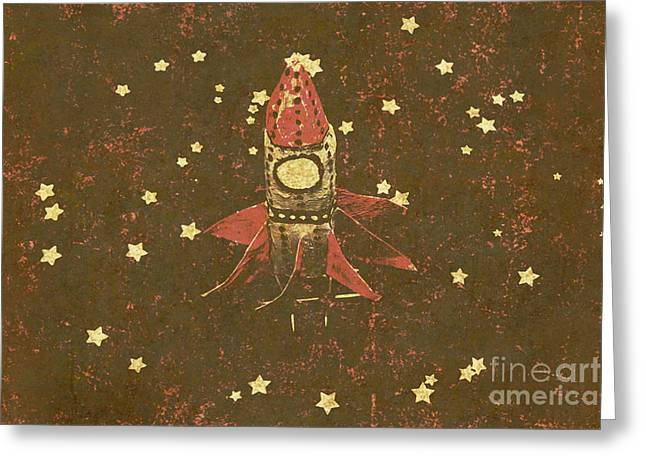 Moon Landings And Childhood Memories Greeting Card by Jorgo Photography - Wall Art Gallery