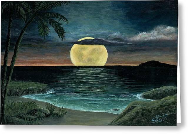 Moon Of My Dreams IIi Greeting Card