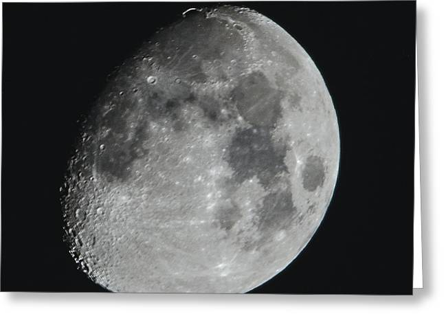 Moon On Day 12 Greeting Card