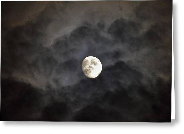 Moon Rise Greeting Card