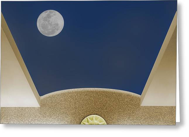 Moon Roof Greeting Card