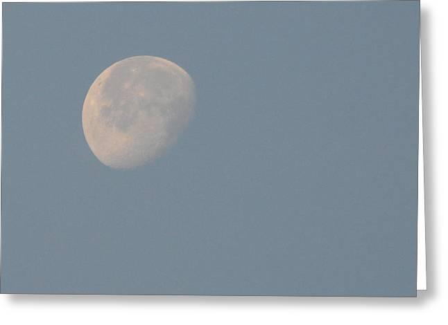 Moon Set Greeting Card by Jimi Bush