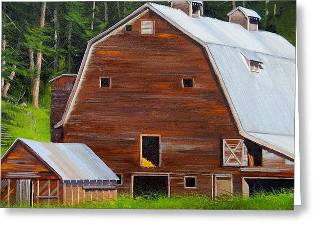 Mooney's Barn Greeting Card