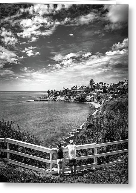 Moonlight Cove Overlook Greeting Card