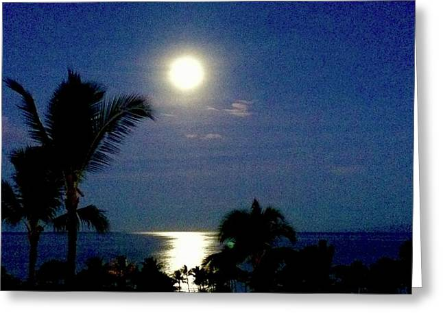 Moonlight  Greeting Card by Russell Keating