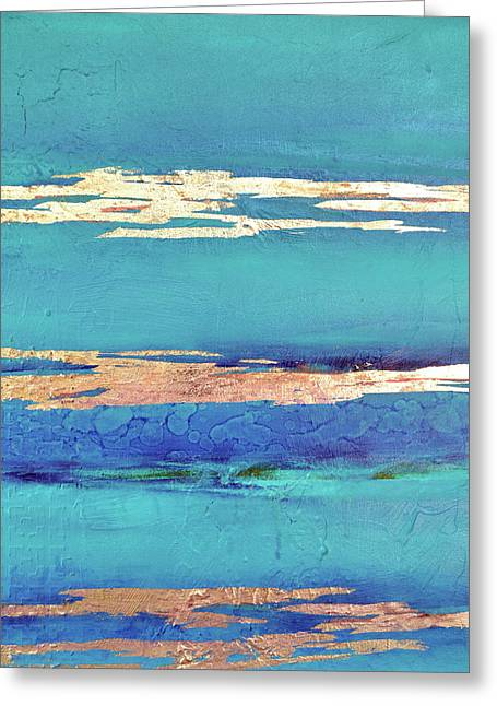 Moonlight Sea Greeting Card by Filomena Booth