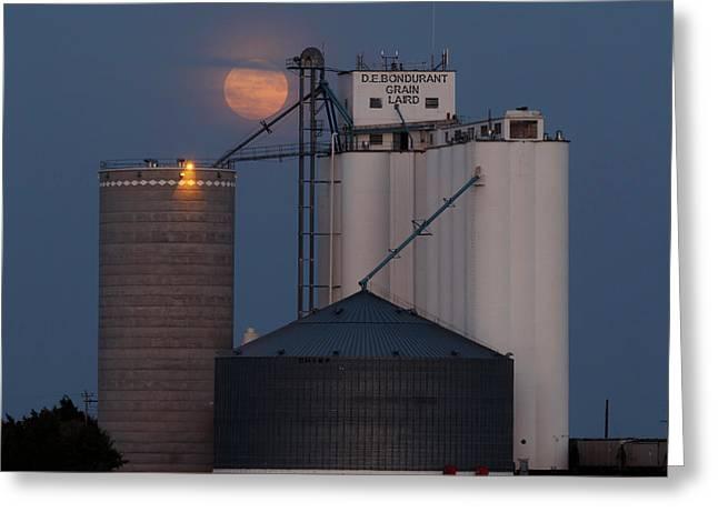 Moonrise At Laird -01 Greeting Card
