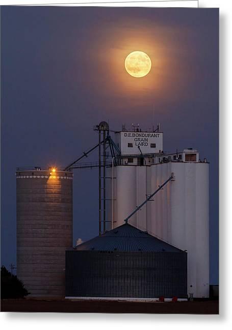 Moonrise At Laird -02 Greeting Card