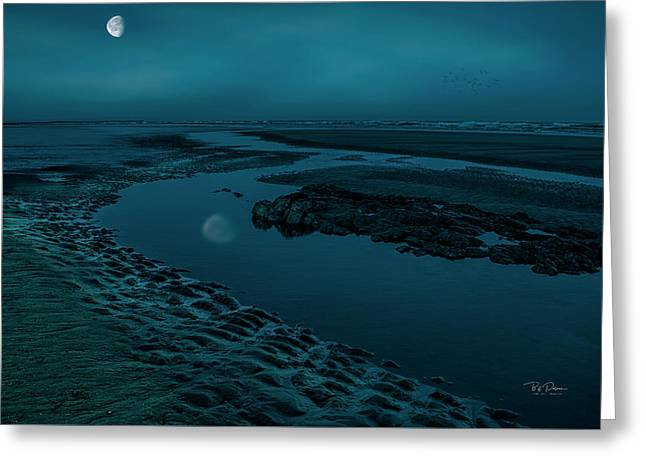 Moonscape 4 Greeting Card
