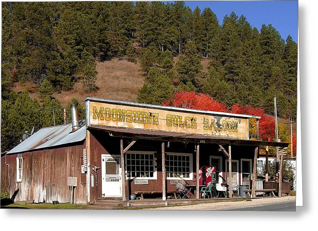 Moonshine Gulch Greeting Card