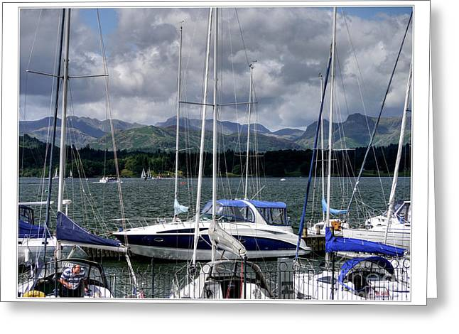 Moored In Beauty Greeting Card