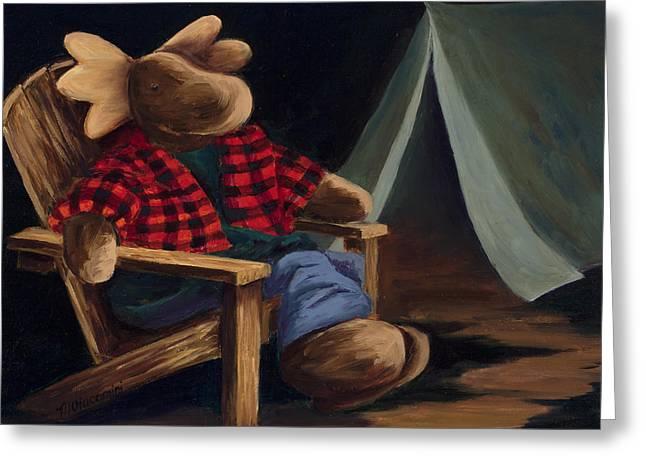 Moose Camp Greeting Card