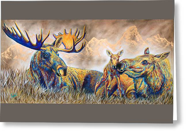 Moose Meadows Greeting Card